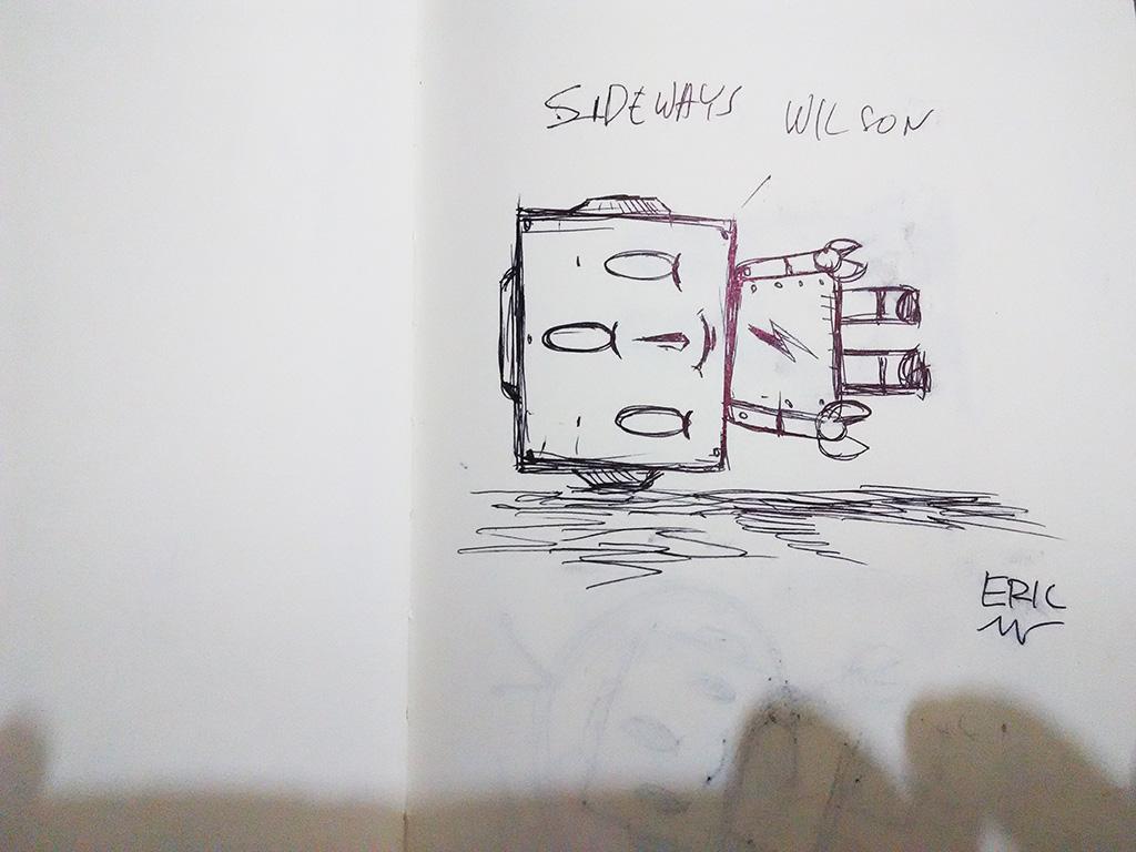 a small tribute to Sideways by Yoskay Yamamoto