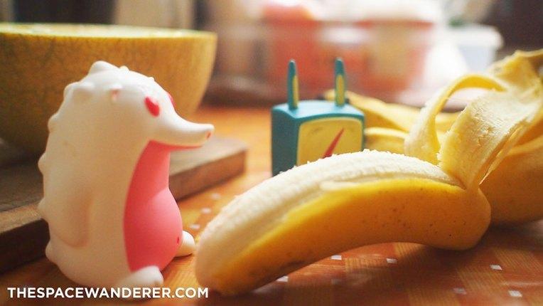 Kupas pisang