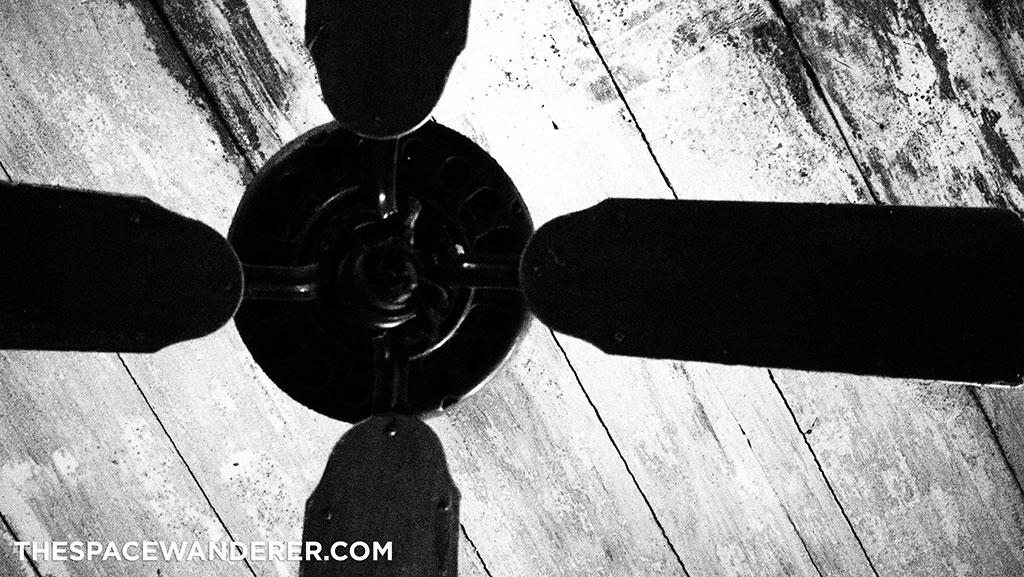 a very old fan