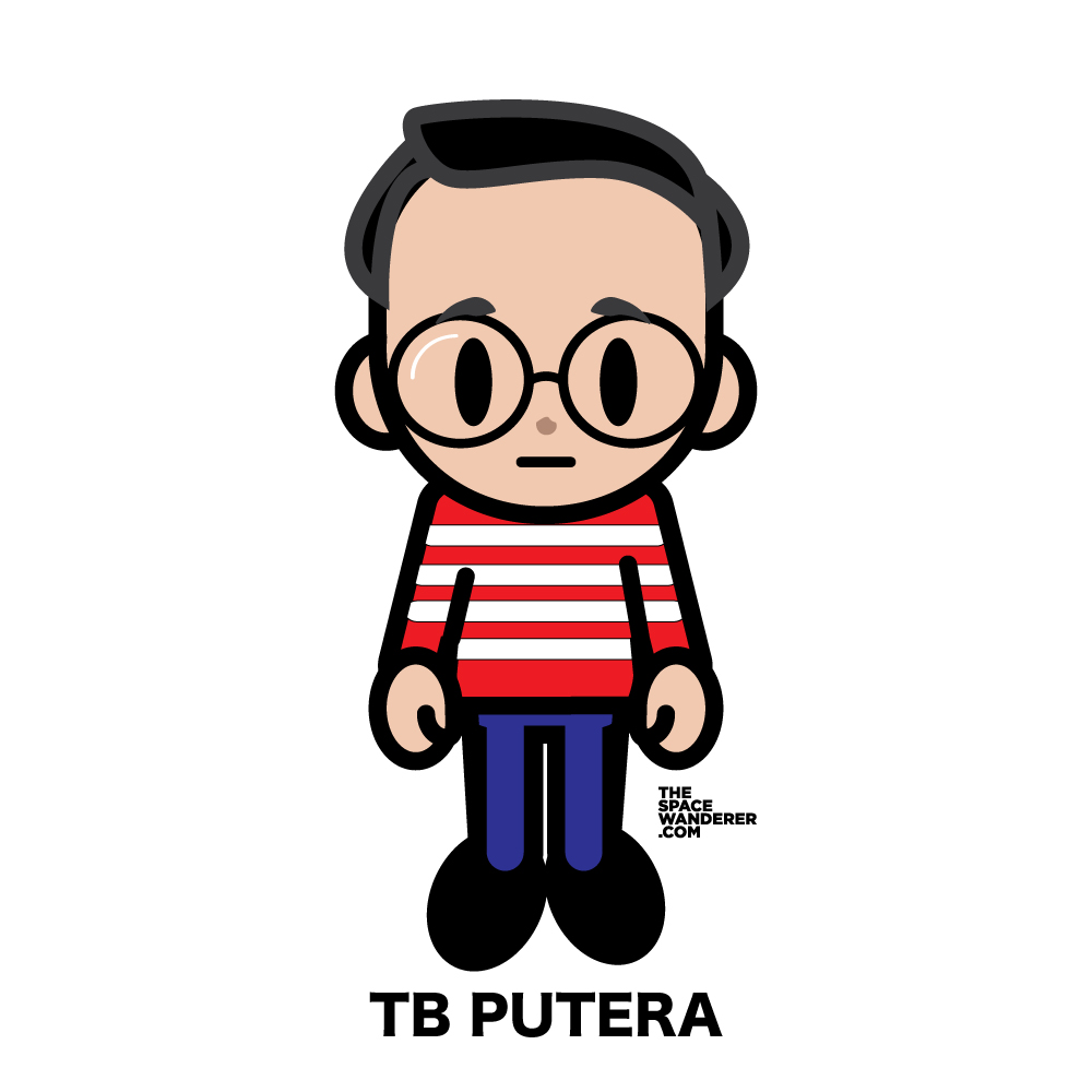 TB Putera A creative workers with unpredictable crazy ideas. Check his instagram feed and you'll get a healthy amount of amusement.