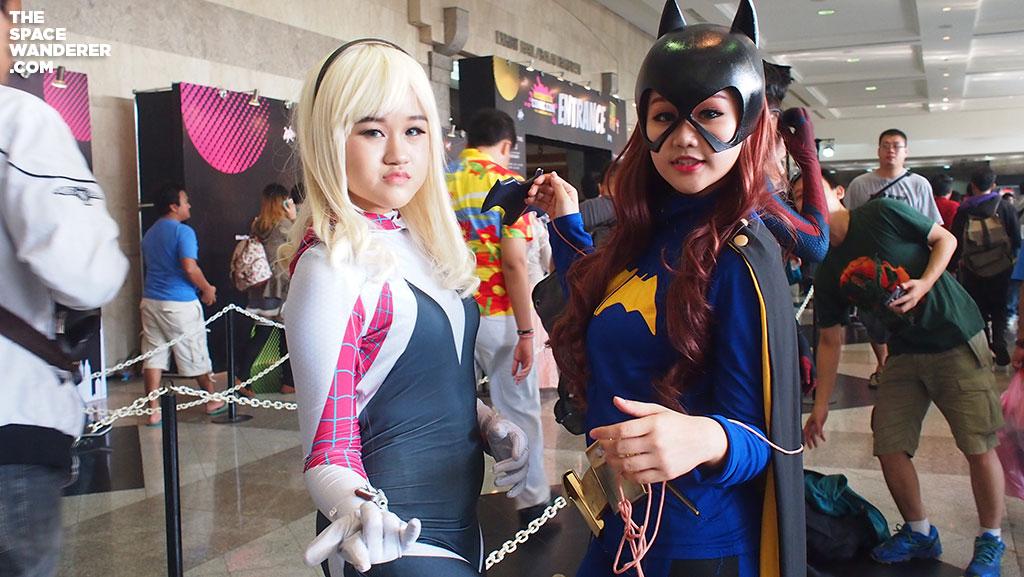 Spidey Mary Jane & Batgirl