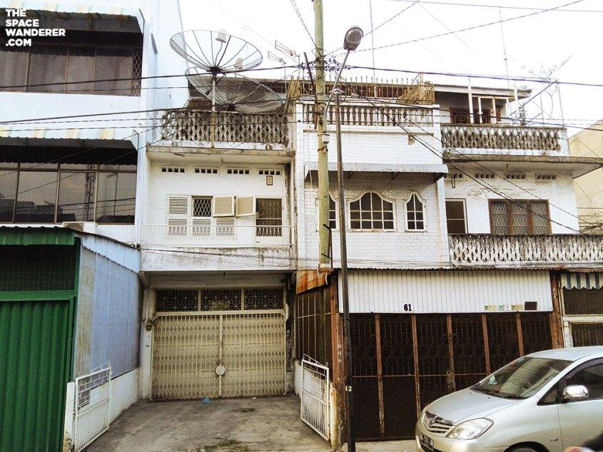 Rumah tua di kota medan