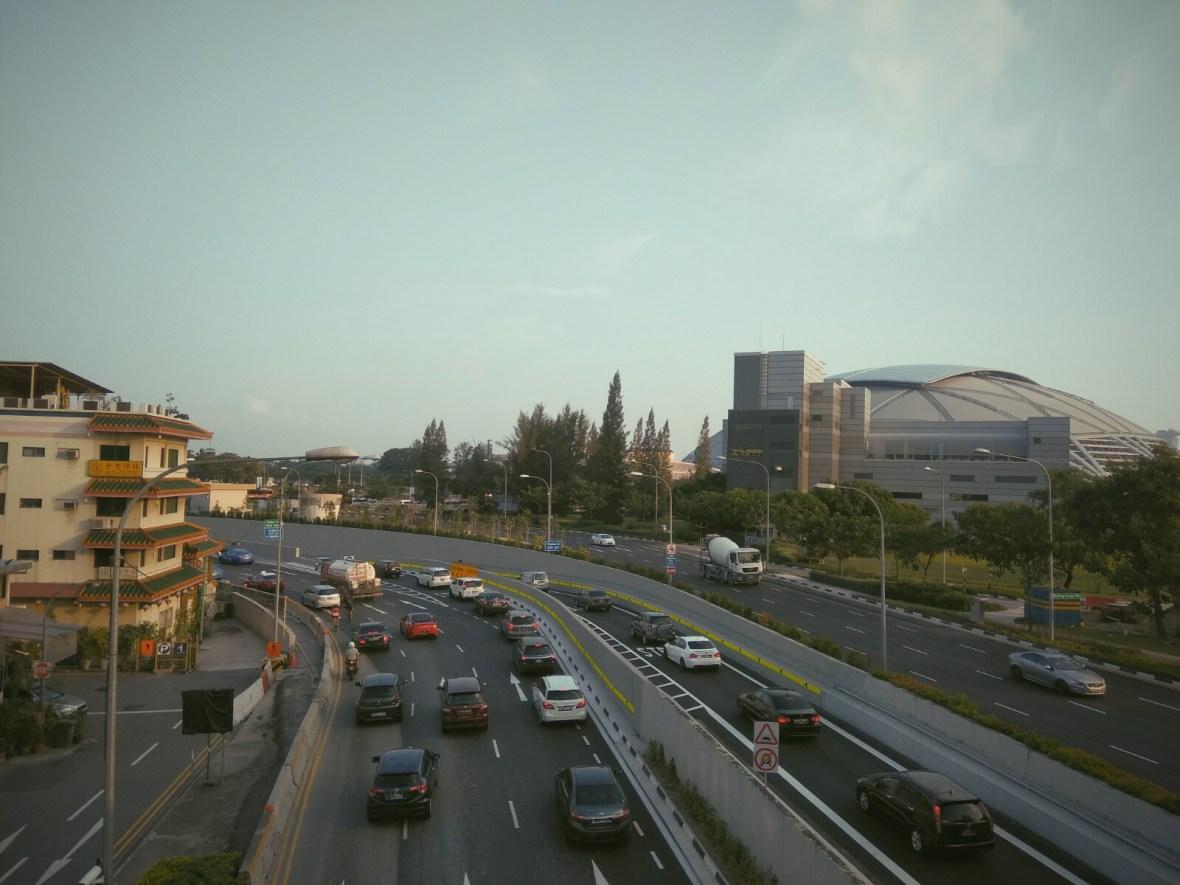 Singapore National Stadium Bridge