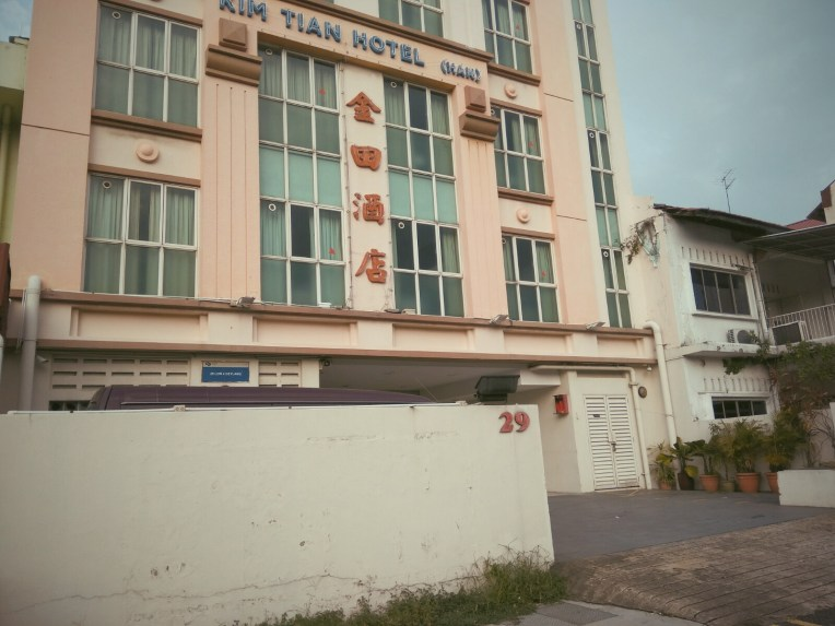 cheap hotel in Geylang; Kim Tian Hotel (han)