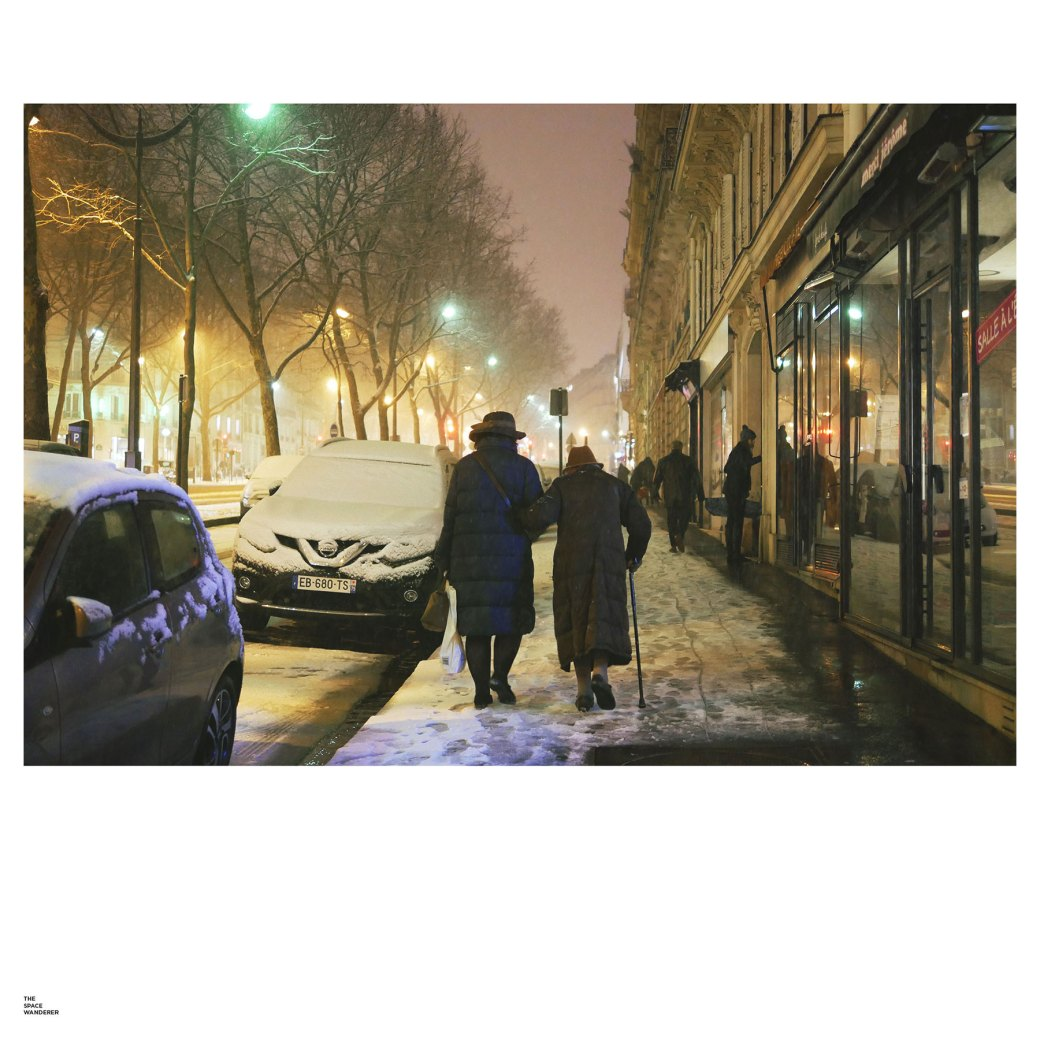 Snow in Paris 2018