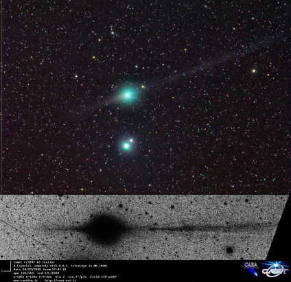 Comet Lulin (C/2007 N3) as imaged by Rolando Ligustri (http://www.castfvg.it/)