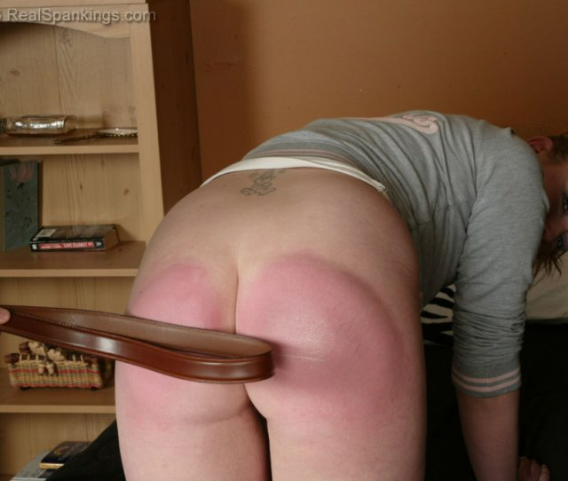 Punishment Spankings With A Belt
