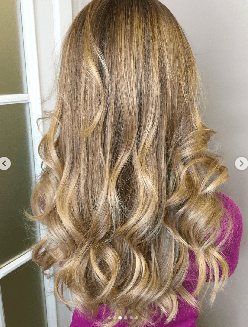 Long Layers in Honey Blond