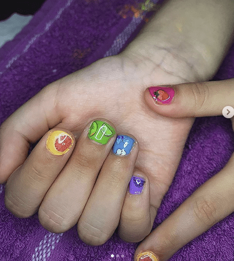 Fruity Nail Designs
