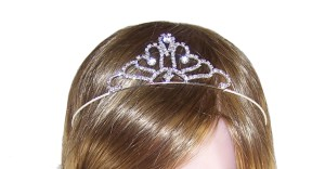 Flower girl diamante sparkly tiara