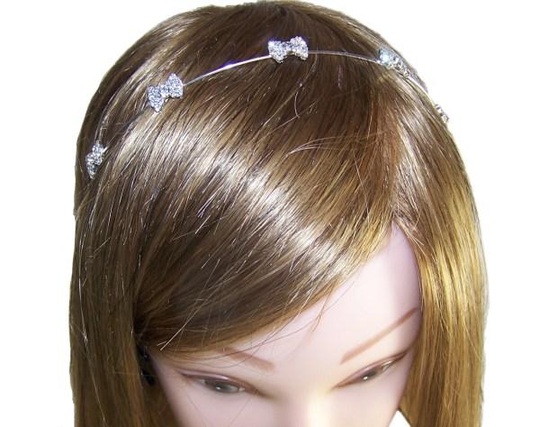 Girls diamante headband