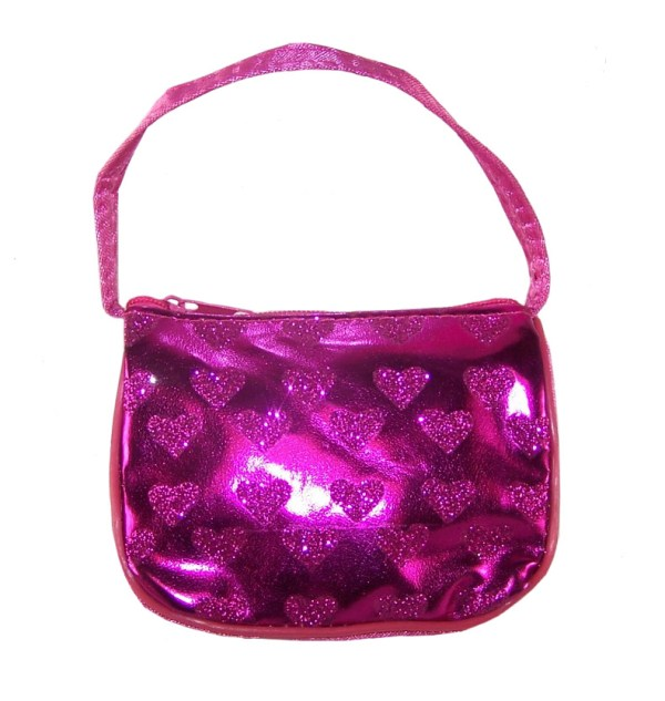 Girls heart purse-2970