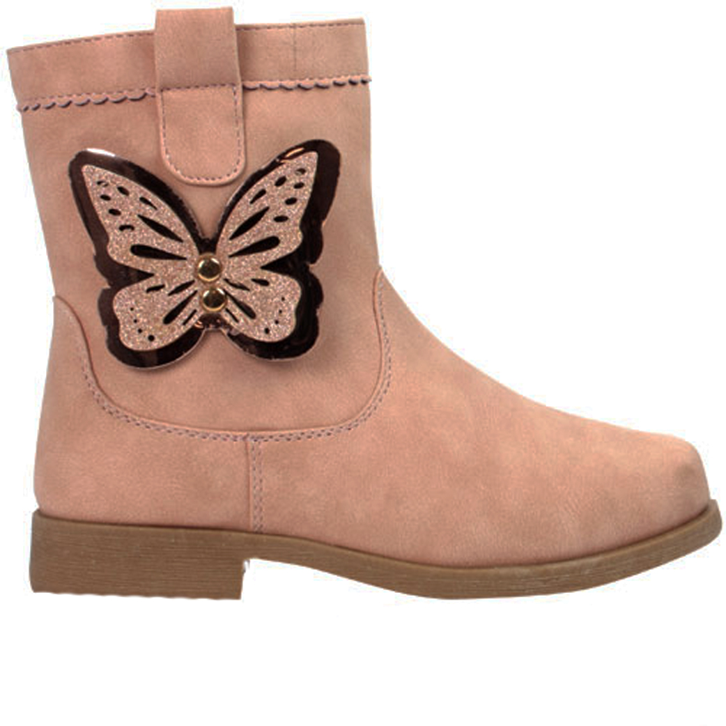 Buy Girls Pink Fashion Ankle Boots