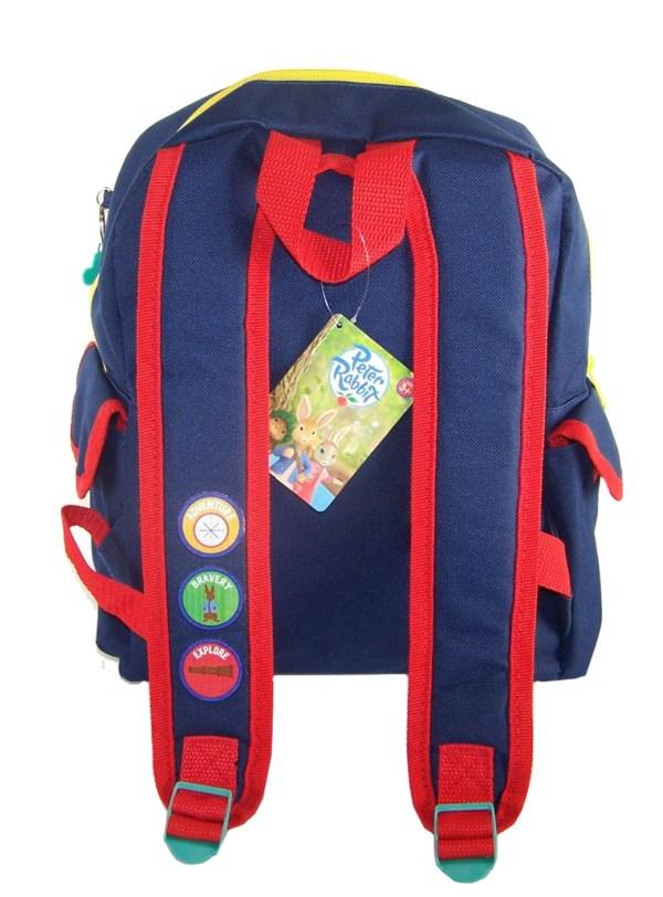Childs Peter Rabbit dark blue satchel backpack -5419