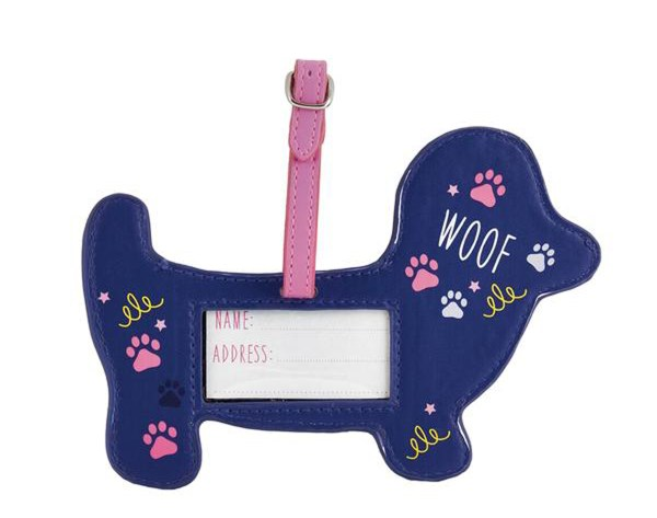 Childrens Pets chunky luggage tag-5506