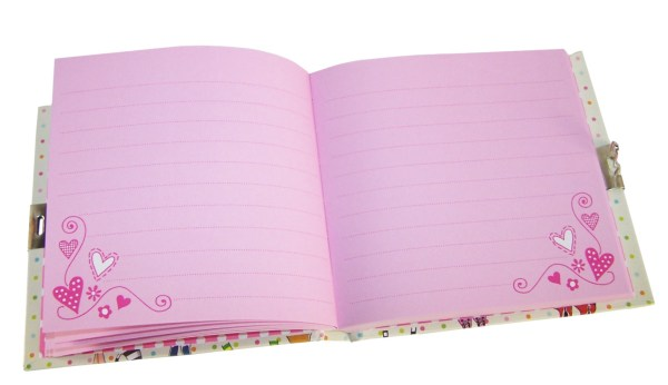 Girls lockable friends secret diary -6044