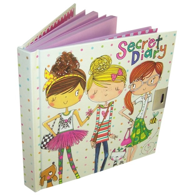 Girls lockable friends secret diary -6041