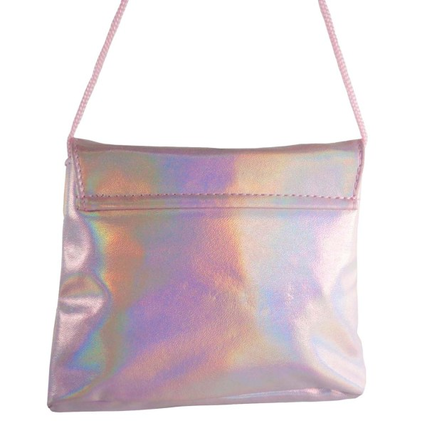 Childrens pink sparkly handbag-6528