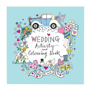 Wedding activity and colouring book