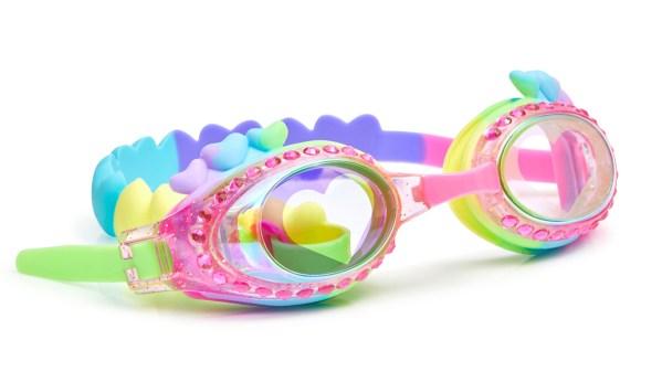Girls rainbow swimming goggles