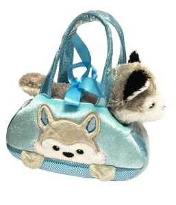 Children's blue Husky Dog in a cute bag