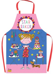 Childrens PVC coated 'Star Baker' design apron