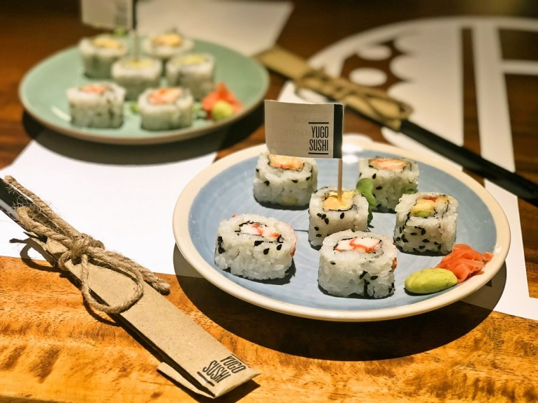 Yugo Sushi at Flea Bazaar Cafe, Kamala Mills, Lower Parel
