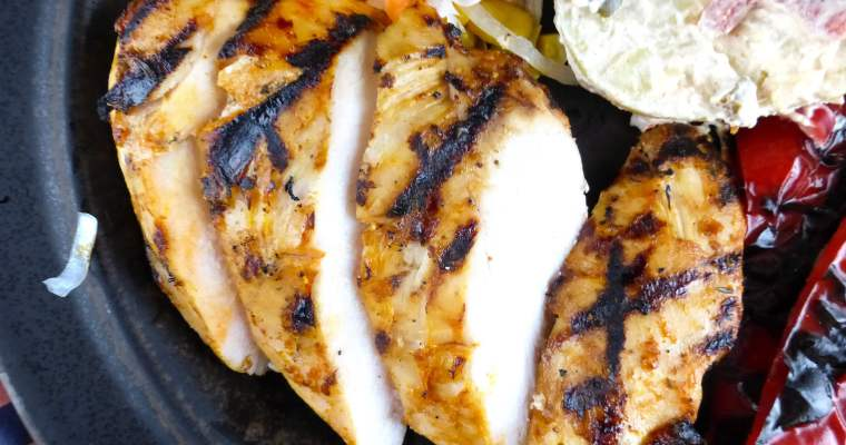 Homemade Tangy Chicken Marinade