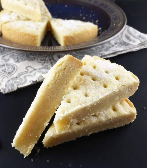Traditional Spelt Shortbread (just 4 ingredients)