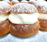 Swedish Semlor (Lent Cream Buns with Cardamom & Almond Paste)