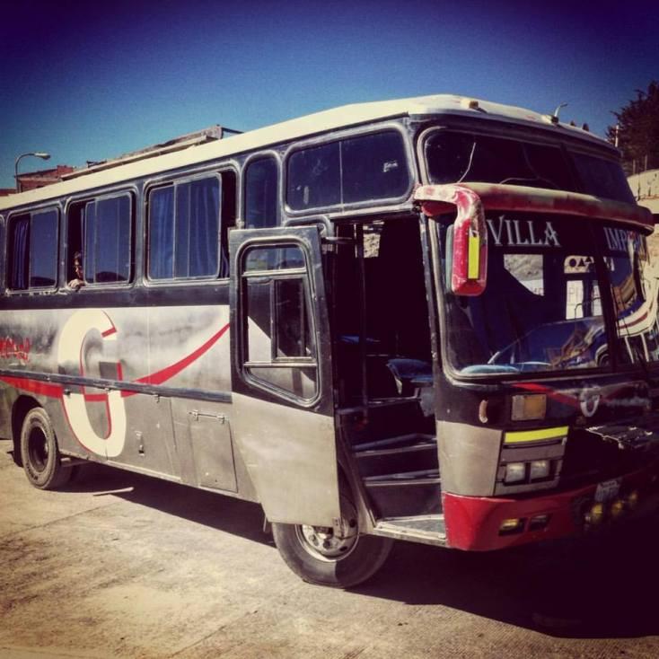 "A ""luxurious"" Bolivian bus"