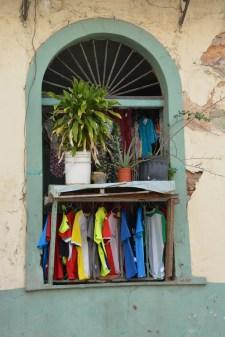 A window? A jumble sale? We aren't sure!