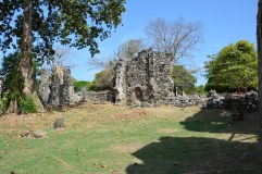 Ruins of old Panama City