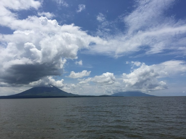 Approaching the twin volcanoes