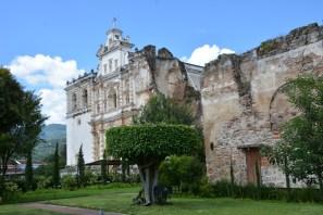 San Cristobal, part church, part ruin