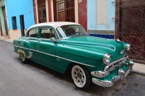 Classic cars used as taxis