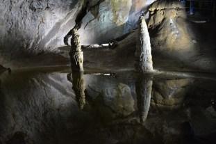 Reflective underground pool