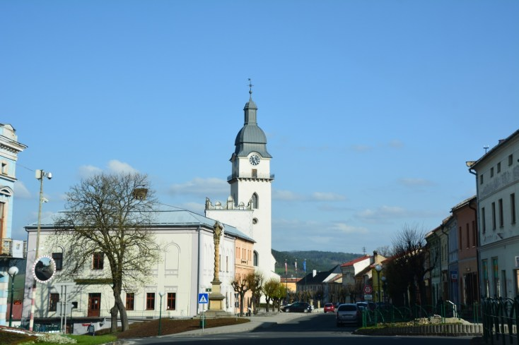 The tranquil town of Kežmarok