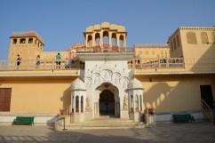 Entrance to Hawa Mahal