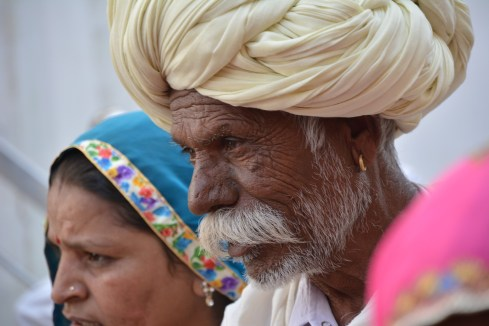 Turban & moustache, the perfect combo
