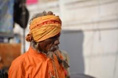 Sadhu in the street