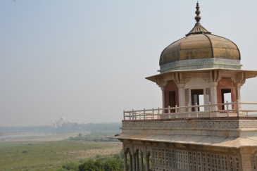 The Shah's view of his lovely creation