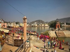 Bust day at the ghats