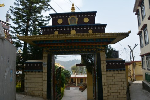 Entrance to temple