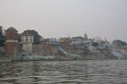 Ghats from the water