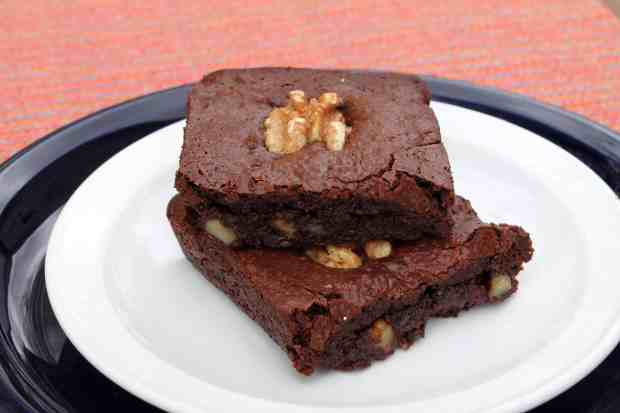 Gluten-Free Brownie for One 1