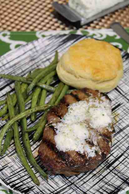 Sweet & Spicy Asian Marinated Steak with Herb Butter