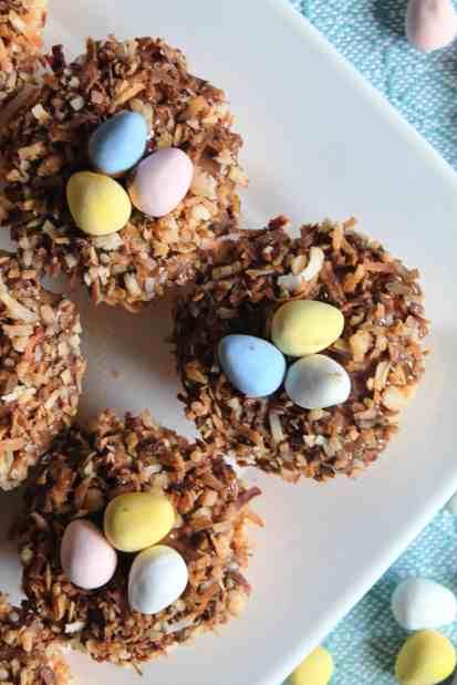 Toasted Coconut Bird's Nest Krispies Treats 2