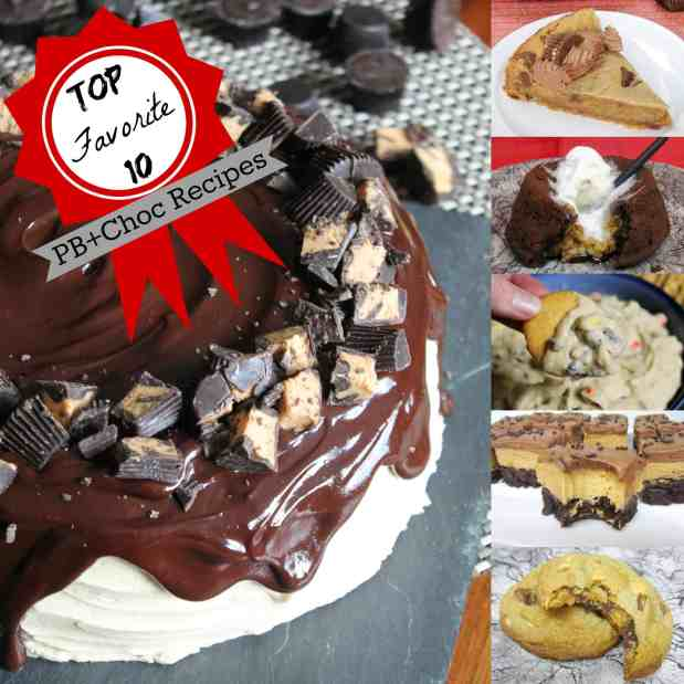 Top 10 Favorite Peanut Butter and Chocolate Recipes