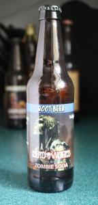 Dead World Zombie Soda Root Beer